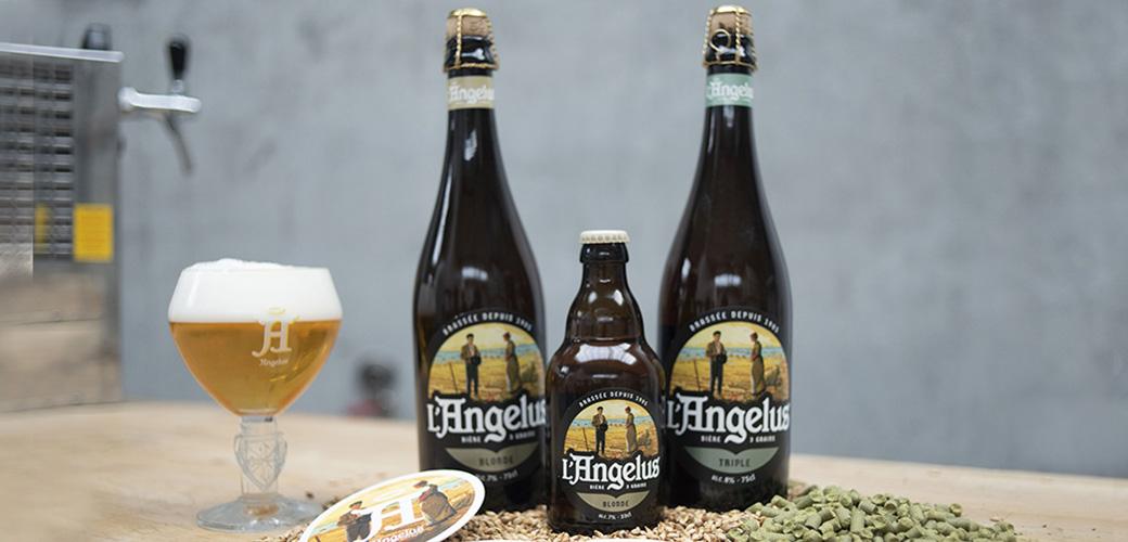 Les bières Angelus